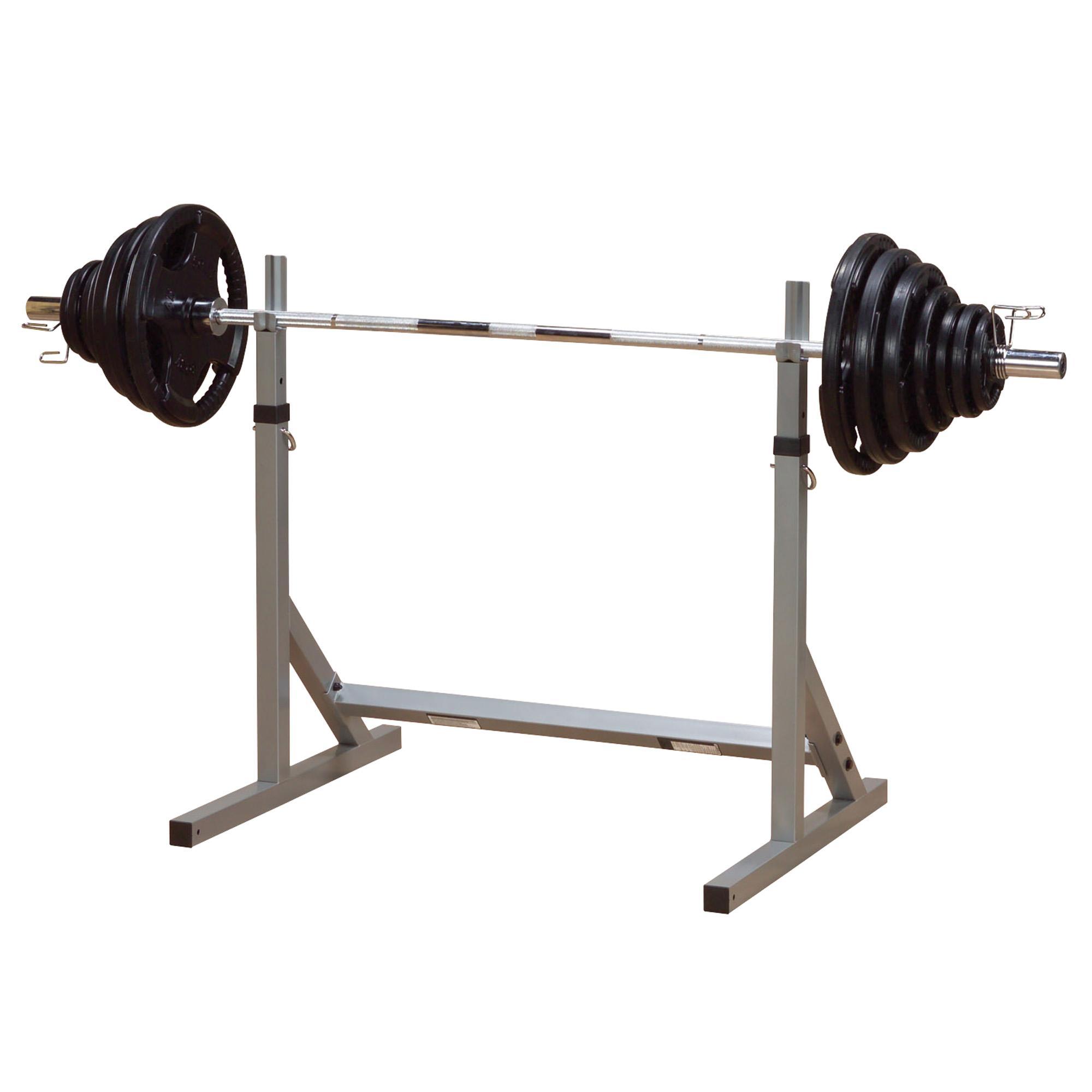 Amazon Com Body Solid Powerline Squat Rack Sports