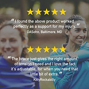 I found the above product worked perfectly as a support for my injury. -DASohn, Baltimore, MD