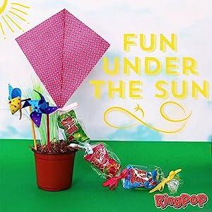 craft,kid craft,spring craft,kids,candy,ring pop,fun craft,kid fun