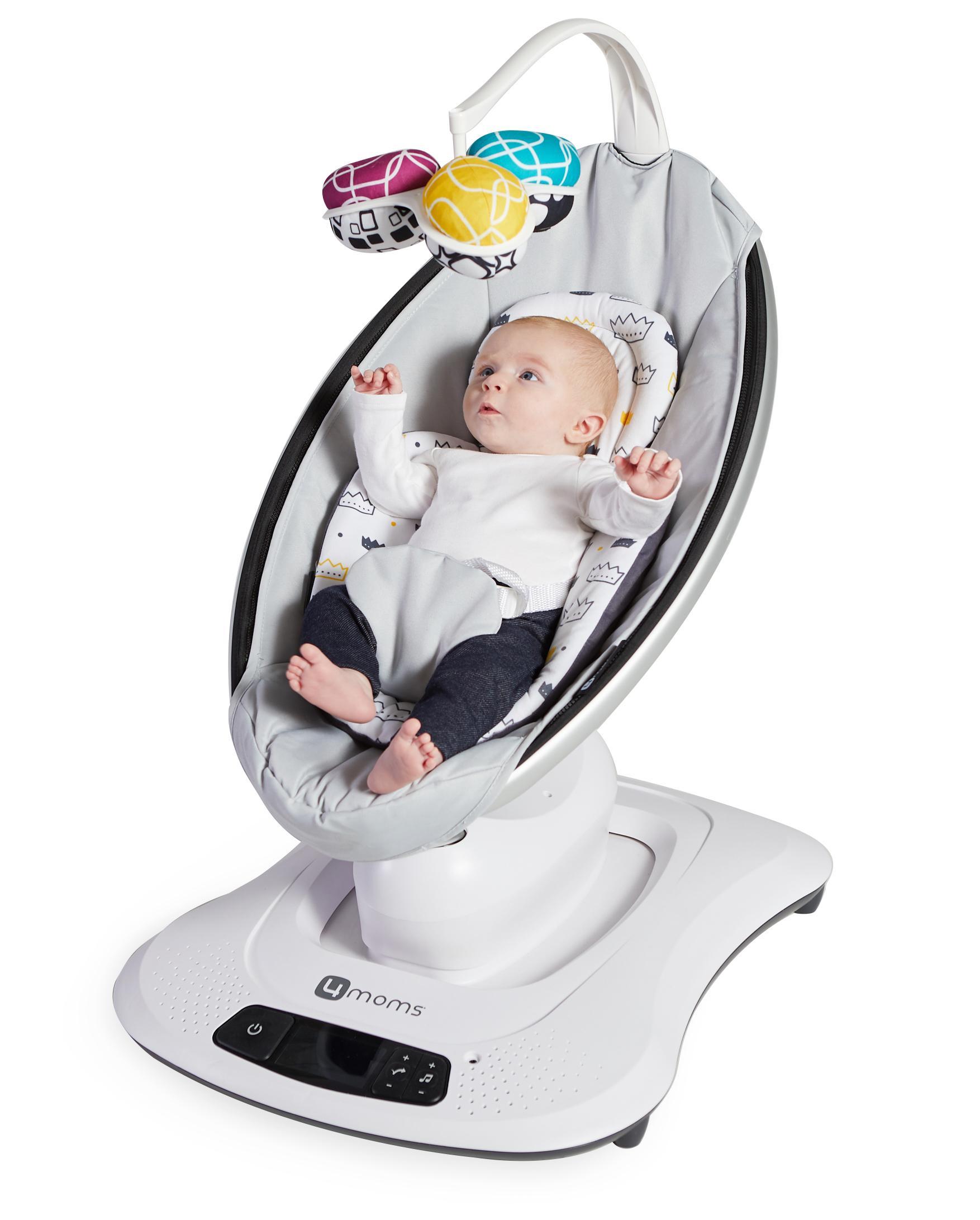 4moms mamaRoo Reversible Newborn Insert, Limited Edition Royal Baby