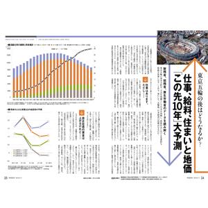 東京五輪の後はどうなるか? 仕事、給料、住まいと地価◎「この先10 年」大予測