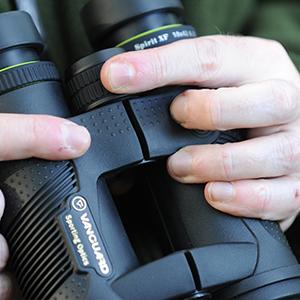 comfortable binoculars, open bridge, lightweight binoculars