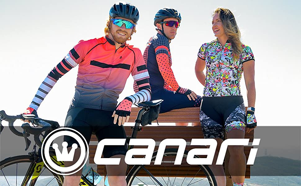 New Canari Men/'s Evolution Convertible Cycling Jacket Vest Breakaway Blue Large