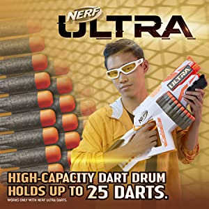 Nerf Ultra One Motorized Blaster with High-Capacity Dart Drum!