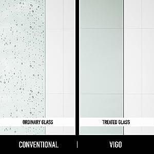 shower, door, tempered, glass