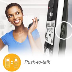 push to talk button