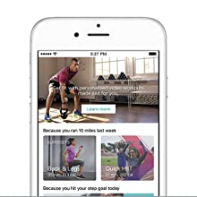Coaching, fitness app