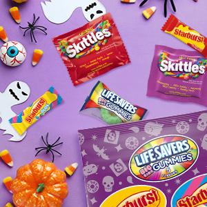 Make scary-fun crafts with Wrigley Halloween Candy.