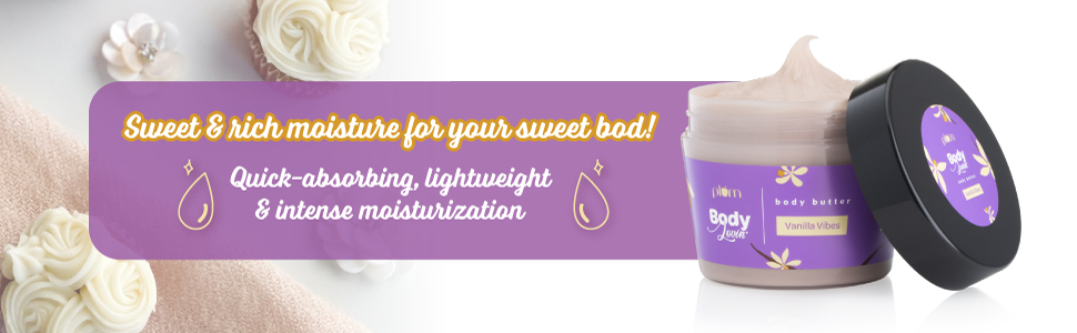 Plum BodyLovin' Vanilla Vibes Body Butter