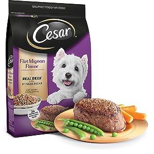 Steak Dog Food, Beef Dog Food, Meaty Dog Food, Dental Health Dog Food, Little Cesars Dog Food