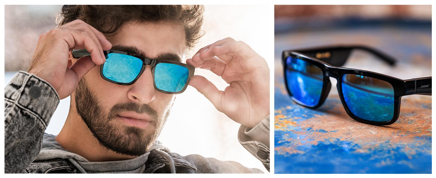 bluetooth glasses, smart glasses, polarised glasses, sunglasses with audio, audio sunglasses