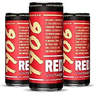 cerveza, red vintage, 1906, estrella galicia, cerveza, 1906 red vintage