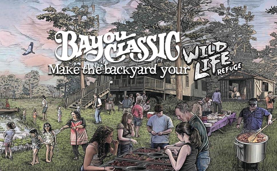 Make the backyard your wild life refuge