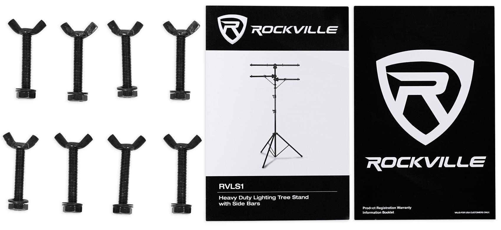 View larger  sc 1 st  Amazon.com & Amazon.com: Rockville RVLS1 12u0027 Ft Tripod Lighting Tree Stand w ... azcodes.com