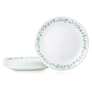 Corelle Country Cottage Dinner Plates 8 Pack