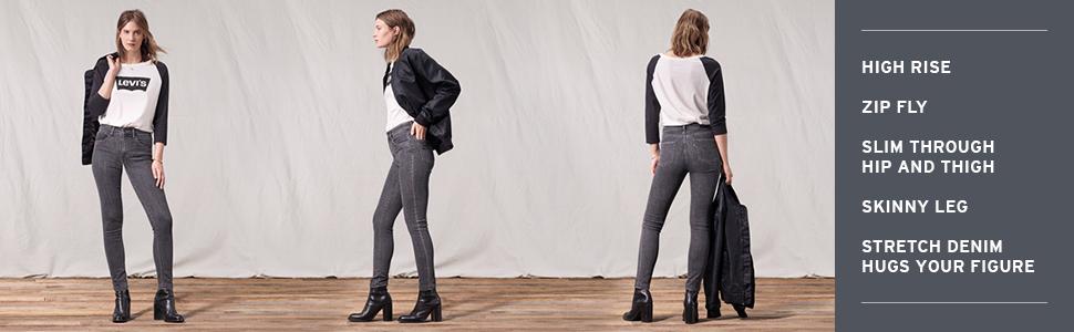 Levi's Amazon At 721 Rise Jeans 5bqvnto Women's Skinny Store High 8v0wymnNO