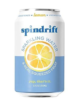 Spindrift Lemon Sparkling Water