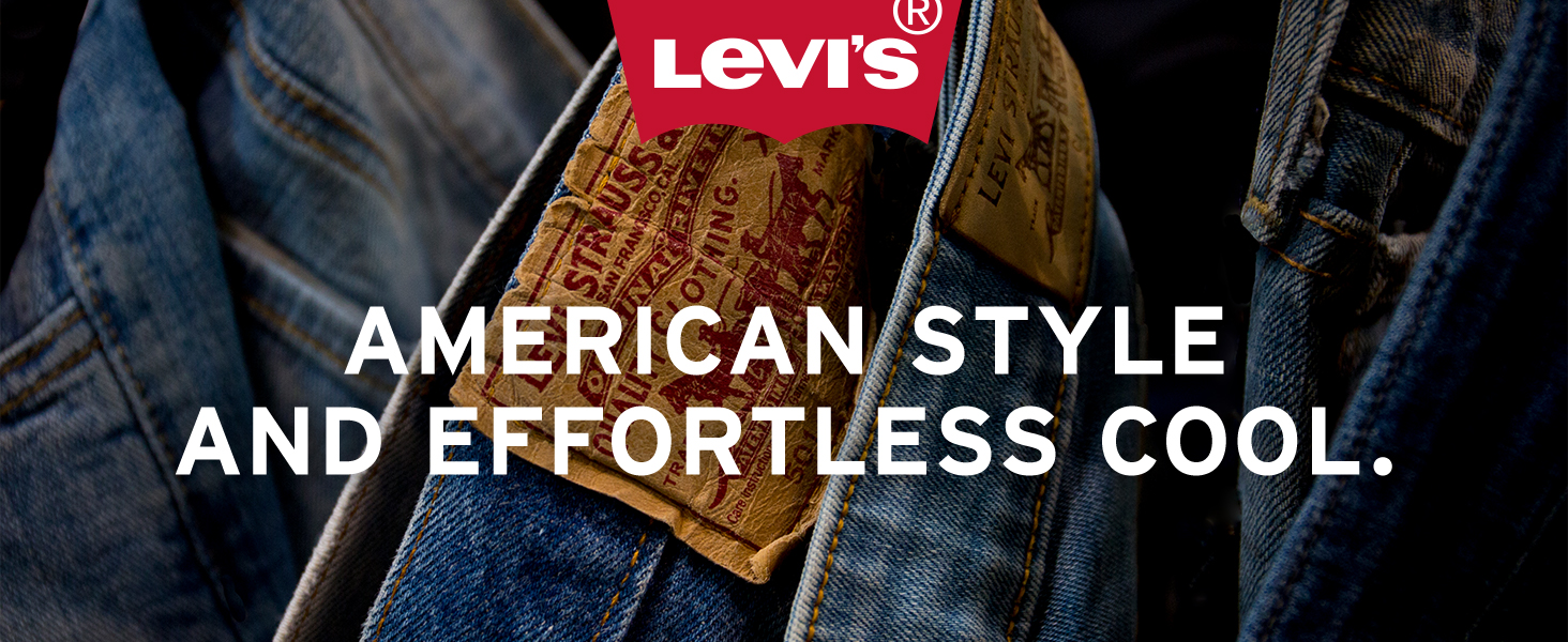 Levis American style and effortless cool