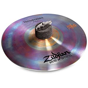 Zildjian, fx, 10, trashformer, cymbal, percussion, value, professional
