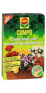 Concime piante balcone
