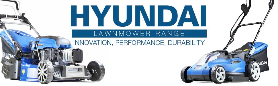 Hyundai Lawnmower Range