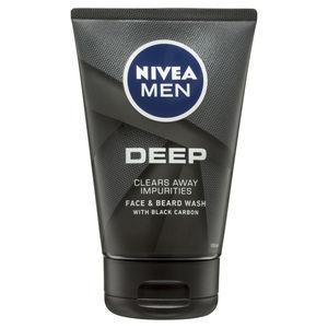 nivea; nivea men; beard wash; shampoo; face wash; shower; exfoliant; charcoal; face scrub;