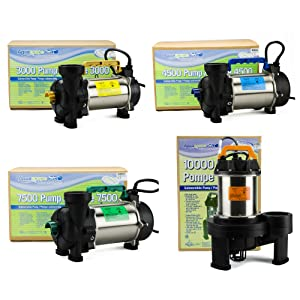 aquascape PRO pump family