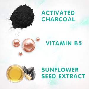 SoCozy Ingredients Swim Spray Activated Charcoal Vitamin B5 Sunflower Seed Extract repairs and