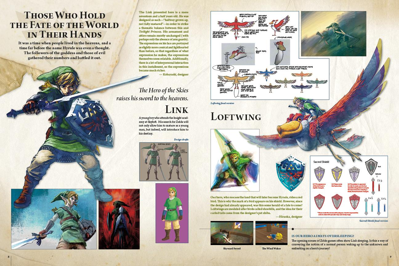 Concept Art Fi Skyward Sword