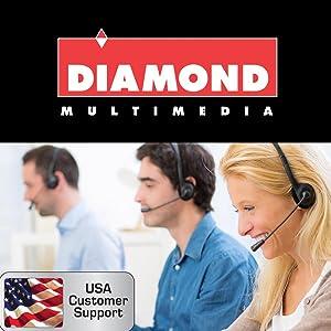 Diamond Multimedia Support banner