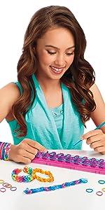 Cra-Z-Art Cra-Z-Loom Bracelet Maker Kit, bracelet maker, children bracelet, fun art, cool gifts