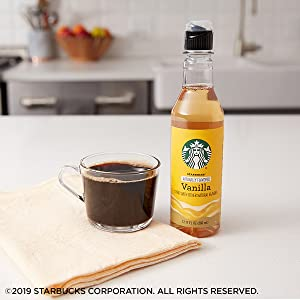 Vanilla Brewed Coffee