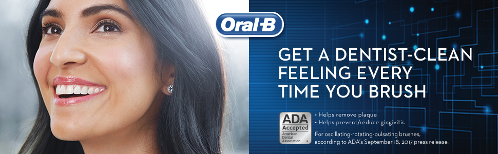 Get a dentist-clean feeling every time you brush