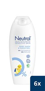 Neutral Baby Bath & Wash Gel