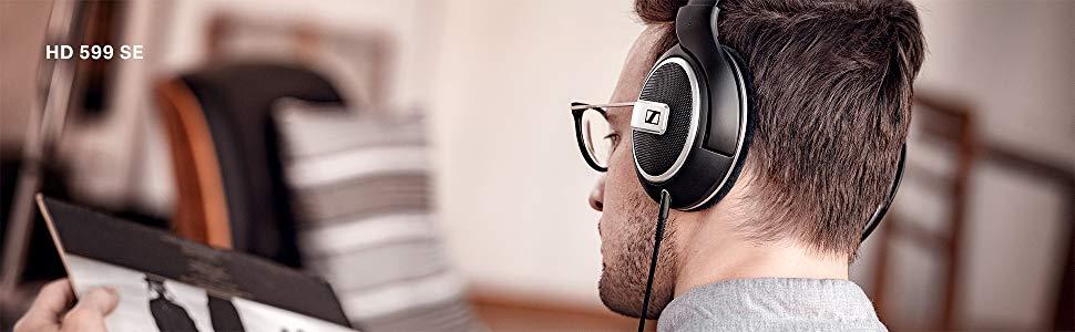 Sennheiser HD 599 Edici/ón Especial Negro Auriculares Abiertos
