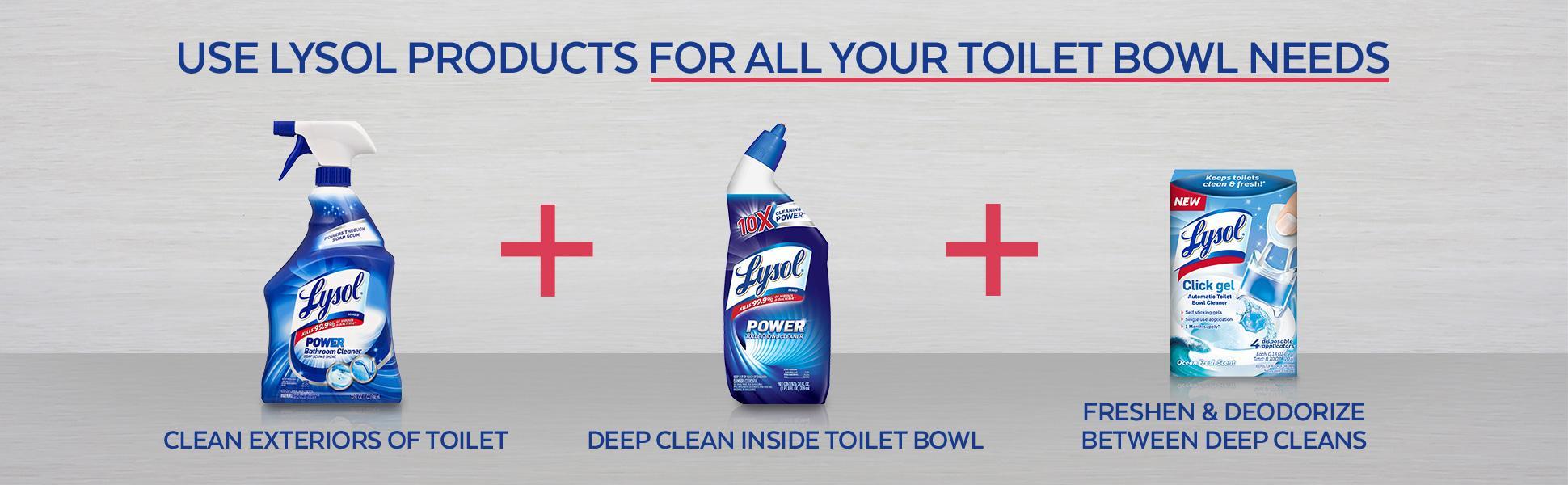 Lysol Action Gel Toilet Bowl Cleaner