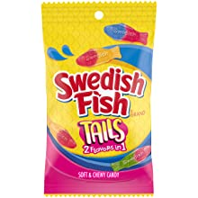 swedish fish candy tails