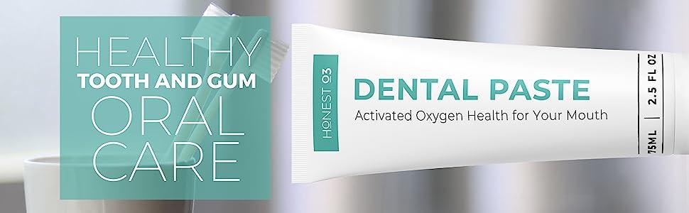 dental paste ozone toothpaste