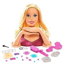 Giochi Preziosi Barbie - Flip and Reveal Busto Deluxe, 19 Piezas BAR19000