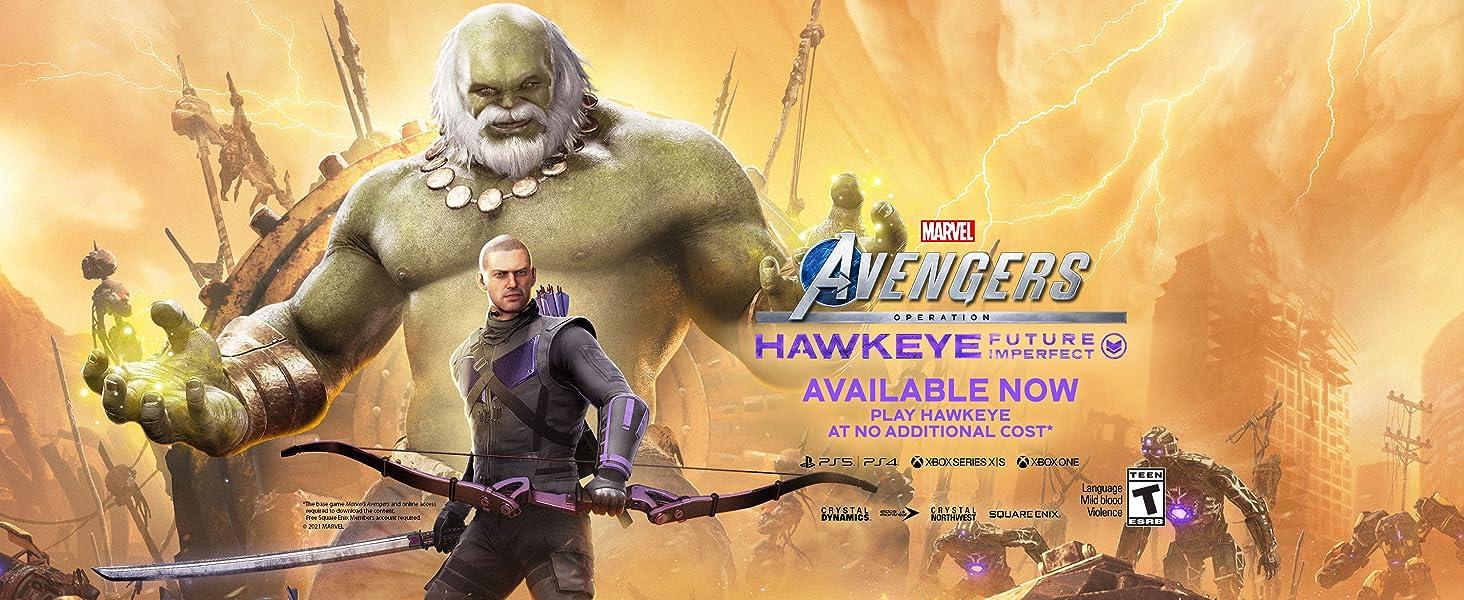 Hawkeye, Avengers,Marvel's Avengers