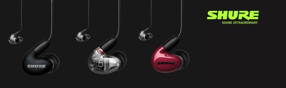 Shure Aonic 5 Kabelgebundene Sound Isolating Ohrhörer Hochauflösender Klang Und Natürliche Basswiedergabe Drei Treiber In Ear Hochwertig Kompatibel Mit Apple Und Android Geräten Transparent Musikinstrumente