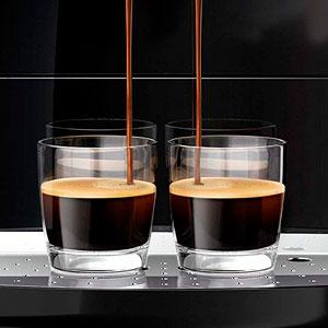 Melitta Caffeo Solo E950-222, Cafetera Automática con Molinillo, 15 Bares, Café en Grano para Espresso, Limpieza Automática, Personalizable, Pure Black: Amazon.es: Hogar