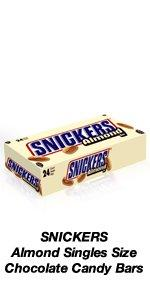 Surprise party guests with a SNICKERS Almond Chocolate Candy Bar.