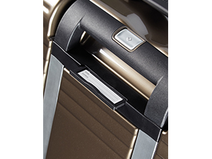 samsonite; neopulse; valise; spinner; valise 4 roues; valise avec poignee de traction double tube