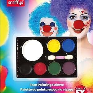 Paleta de maquillaje para la cara