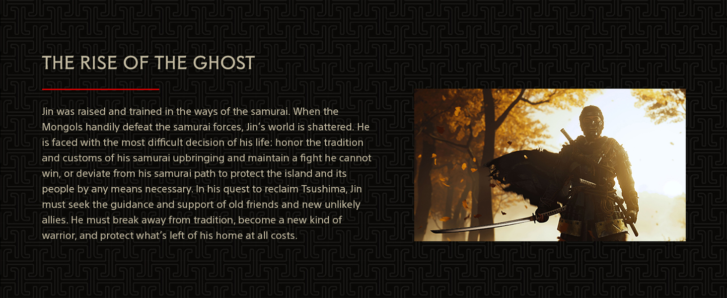 Ghost of Tsushima, PS4