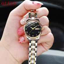 quartz watches for men women waterproof black watches for women stainless steel