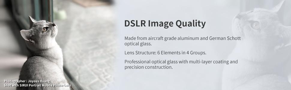 DSLR Image Quality