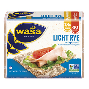 Amazon.com: Wasa Light Rye Crispbread, 9.5 Ounce (Pack of 12)