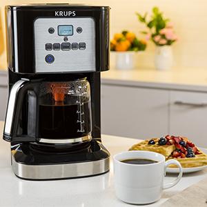 Krups cafetera café delicioso desayuno café